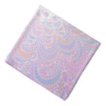 Growing Circle - geometric pattern - Bandana