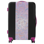 Growing Circle - geometric pattern - Luggage