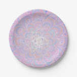 Growing Circle - geometric pattern - Paper Plate