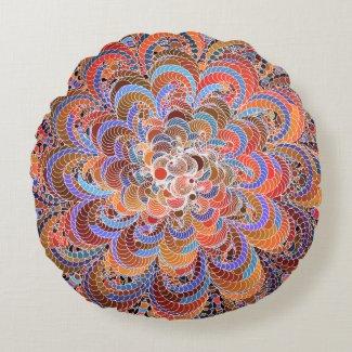 Growing Circle Round Pillow