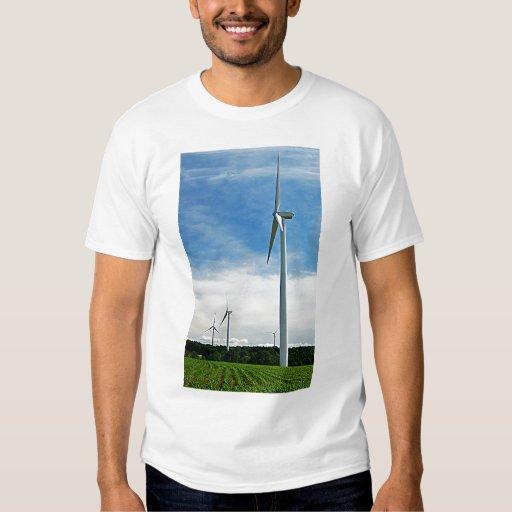 Growing Corn and Windmills T-Shirt