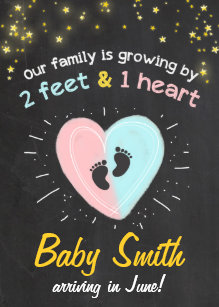 Pregnancy announcements zazzle growing family pregnancy announcement maxwellsz