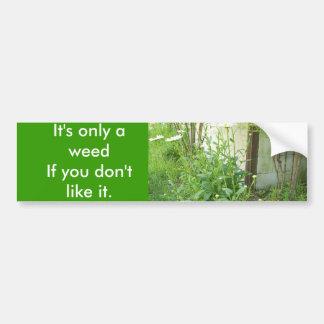 Growing Garden Car Bumper Sticker