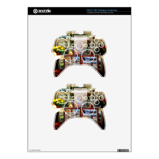 Growing Garlic In A Greenhouse Xbox 360 Controller Decal