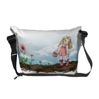 Growing Hearts Courier Bag