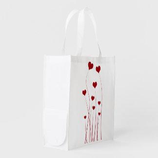 Growing Hearts - Reusable Bag Reusable Grocery Bags
