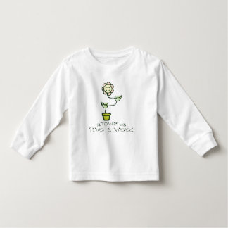 Growing Like a Weed Toddler T-shirt