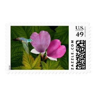 Growing Love Postage Stamp
