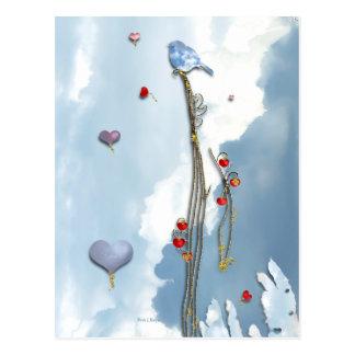 Growing Love! Postcard