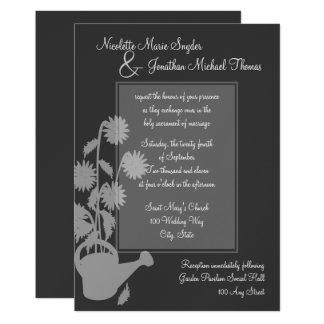 Growing Love Wedding Card