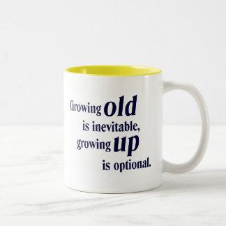 Growing Old Growing Up Gift Mug