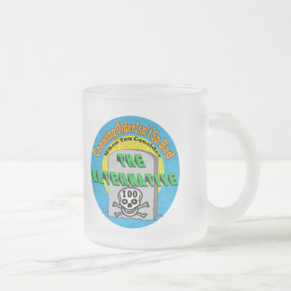Growing Older 100th Birthday Gifts Frosted Glass Coffee Mug