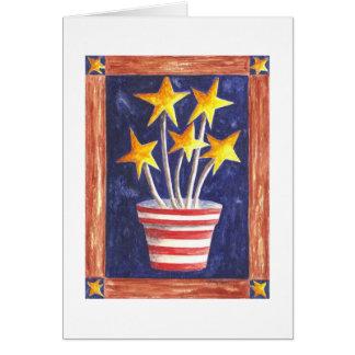 Growing Patriotism Card