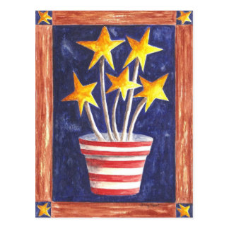 Growing Patriotism Postcard