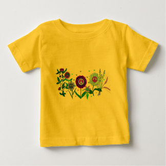 Growing Peace Baby T-Shirt