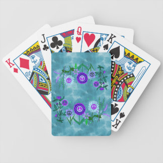 Growing Peace Bicycle Playing Cards