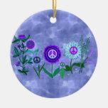 Growing Peace Christmas Tree Ornaments