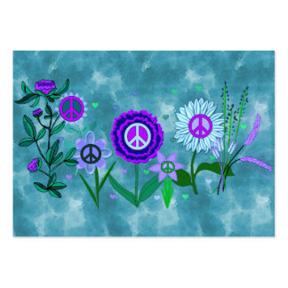 Growing Peace Large Business Card