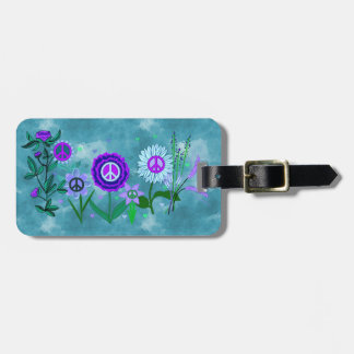 Growing Peace Luggage Tags