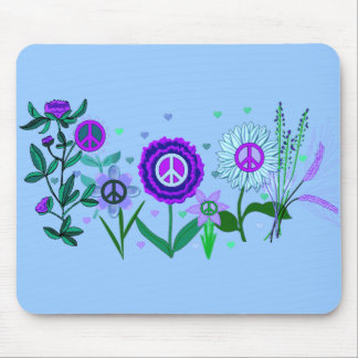 Growing Peace Mouse Pad