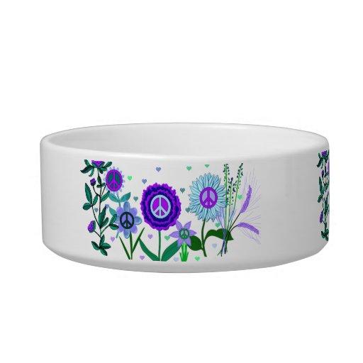 Growing Peace Pet Water Bowls