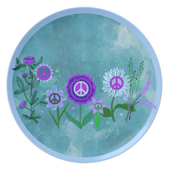 Growing Peace Plate