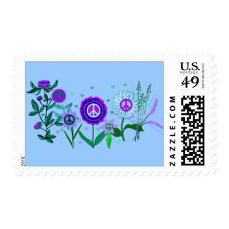 Growing Peace Postage
