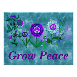 Growing Peace Poster