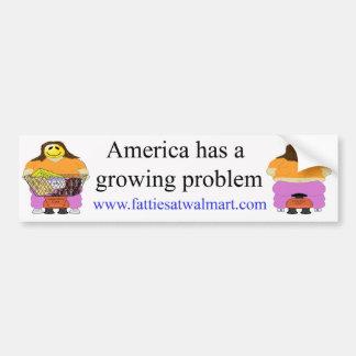 Growing Problem Bumper Sticker 2