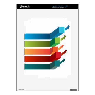 Growing Profits Chart Icon Skins For iPad 2