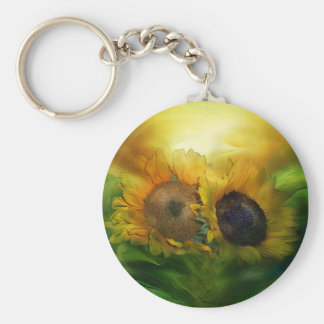 Growing Together Art Keychain