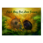 Growing Together Valentine's Day ArtCard Greeting Cards