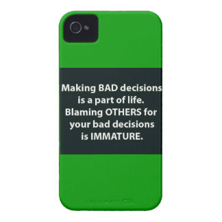 GROWING UP AND OWNING UP TO OUR OWN MISTAKES MOTIV iPhone 4 Case-Mate CASE