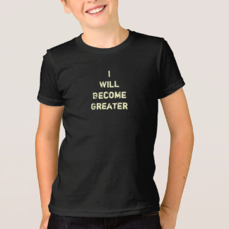 Growing up - funny t-shirt for kids and teens