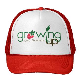 GROWING UP GARDENS TRUCKER HAT