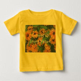 Growing upLoving Nature Baby T-Shirt