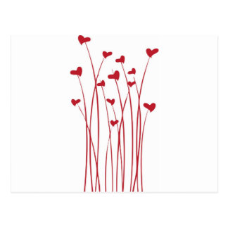 Growing Valentines Postcard