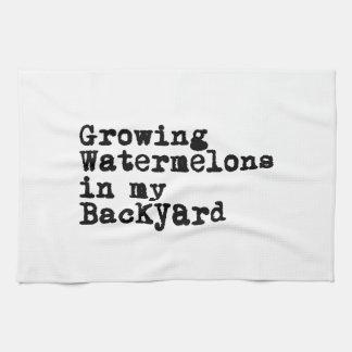 Growing Watermelons Towel