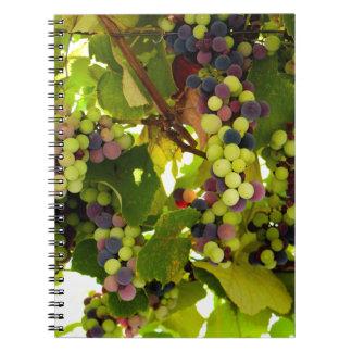 Growing Wine Notebook
