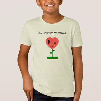 Growing with Montessori T-Shirt