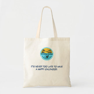 """""""Growing Young in The Villages"""" tote"""