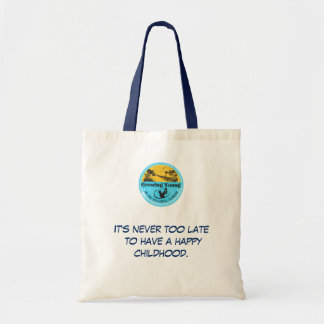 """Growing Young in The Villages"" tote"