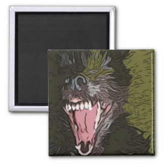 Growl 2 Inch Square Magnet