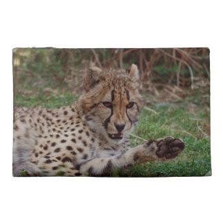 Growling Cheetah Travel Accessory Bag