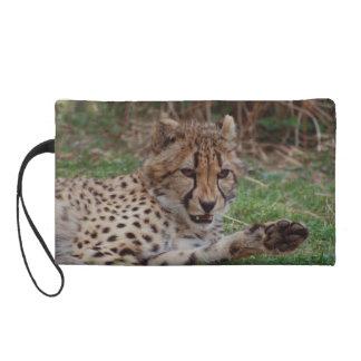 Growling Cheetah Wristlets