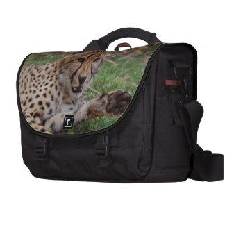Growling Cheetah Commuter Bag