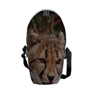 Growling Cheetah Messenger Bag