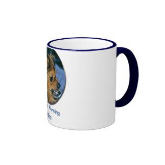 Growling Dog - A before coffee Mug