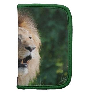 Growling Lion Wallet Folio Organizer