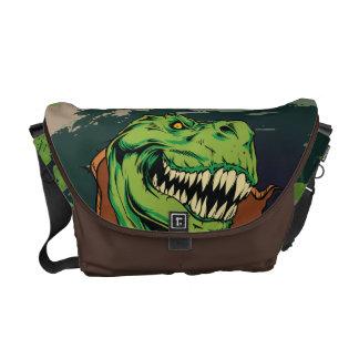 Growling T-Rex Messenger Bag
